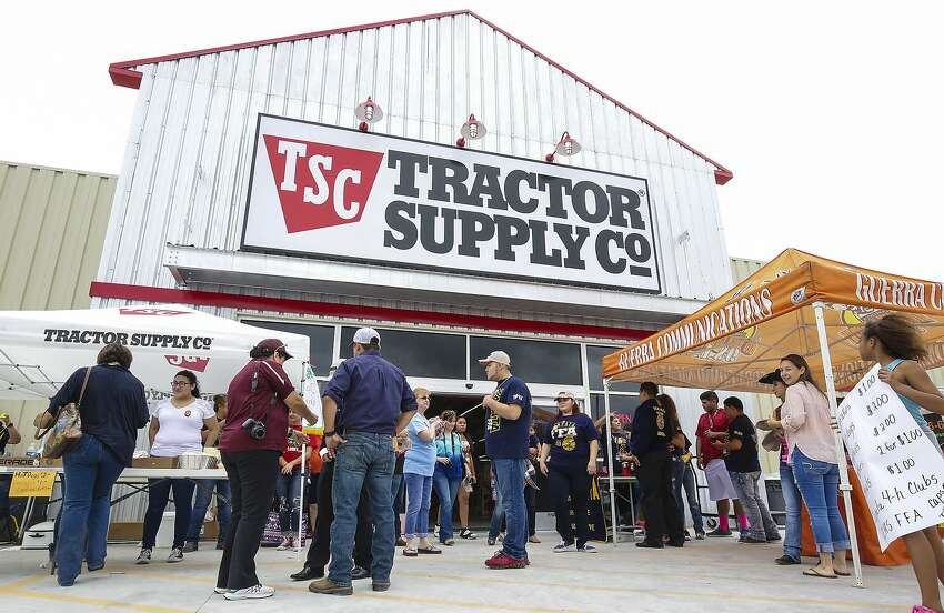 Click through this slideshow for a list of stores that let you shop with your dog. Tractor Supply Co.