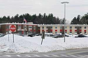 Exterior of Farnsworth Middle School on Wednesday, Feb. 4, 2015 in Guilderland, N.Y.  (Lori Van Buren / Times Union)
