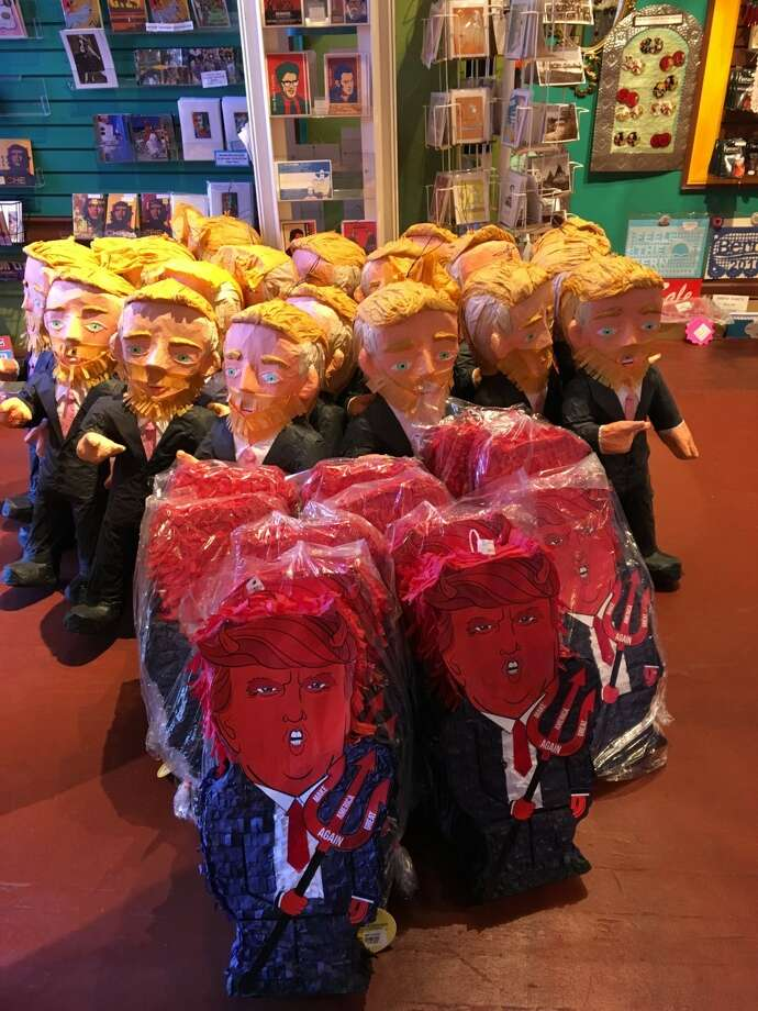 Casa Bonampak has sold a number of politically-themed products, which have been popular during this election year. Photo: Courtesy Casa Bonampak