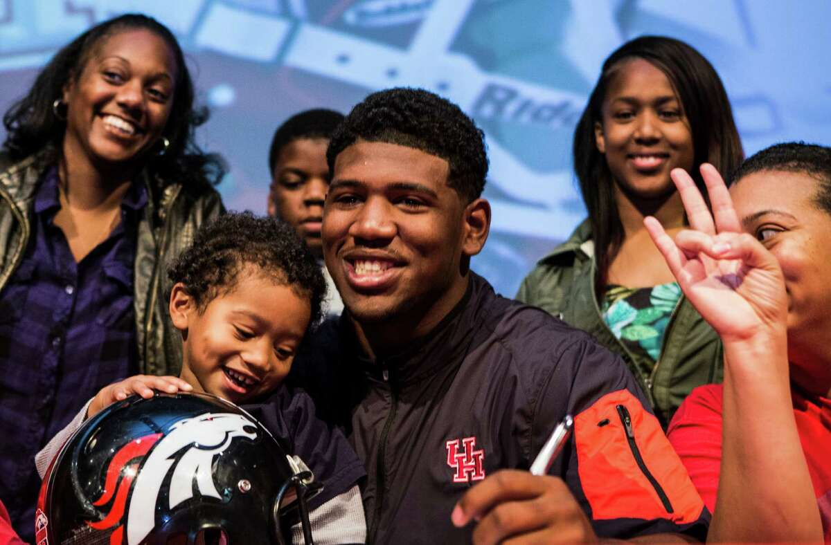 May 21, 2015: Herman picks up a commitment from Westfield defensive tackle Ed Oliver, the nation's No. 4 overall prospect. A day later, Westside four-star defensive tackle Jordan Elliott commits to the Cougars (although he later decommits). The H-Town Takeover is off and running.
