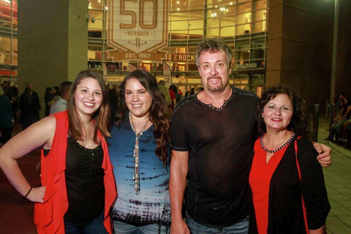 Adele fans at Toyota Center on Nov. 8.