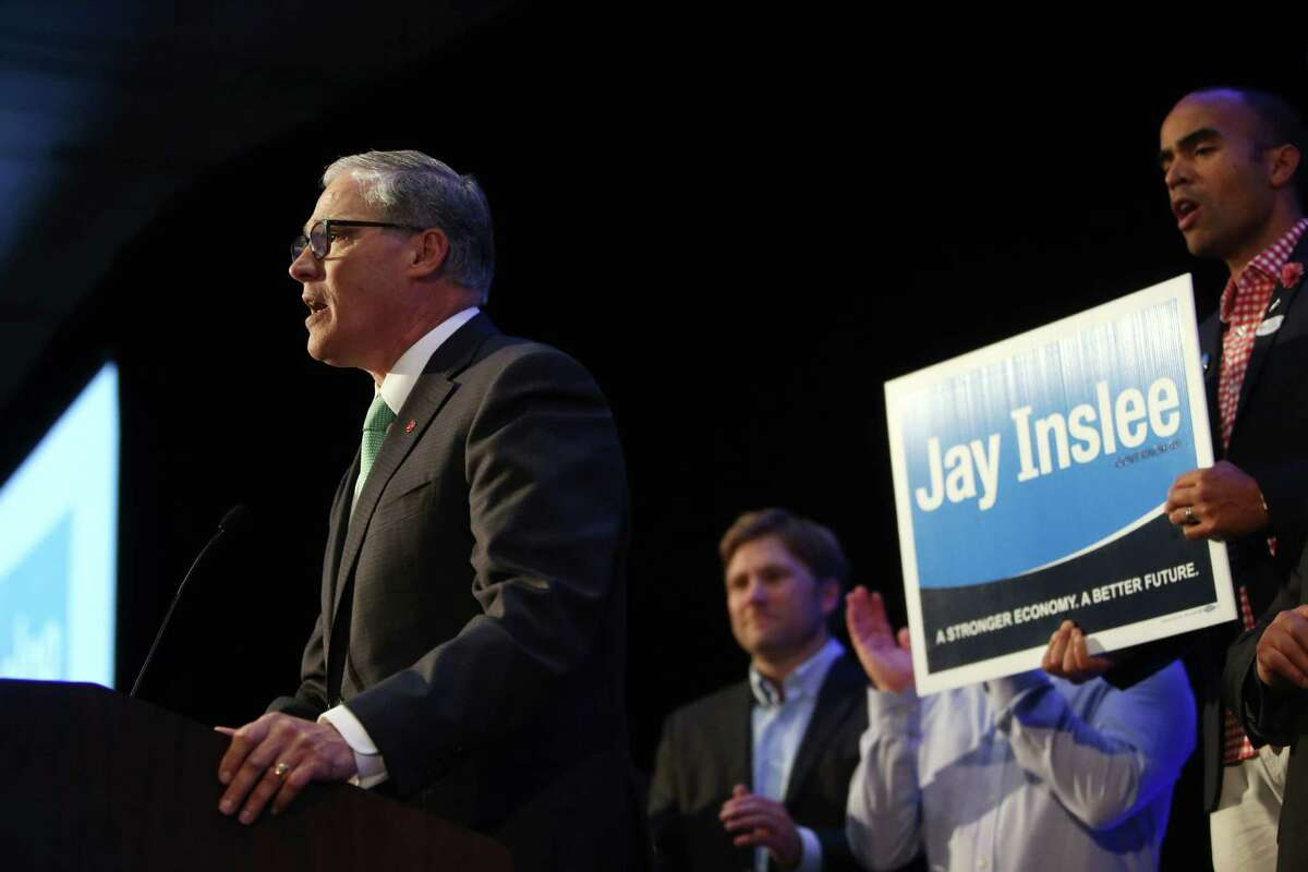 Governor Jay Inslee is a conviction politician on immigrant rights. He has welcomes Syrian refugees, spoken at a mosque in Redmond, and once joked about building a wall around Washington to keep out Donald Trump.
