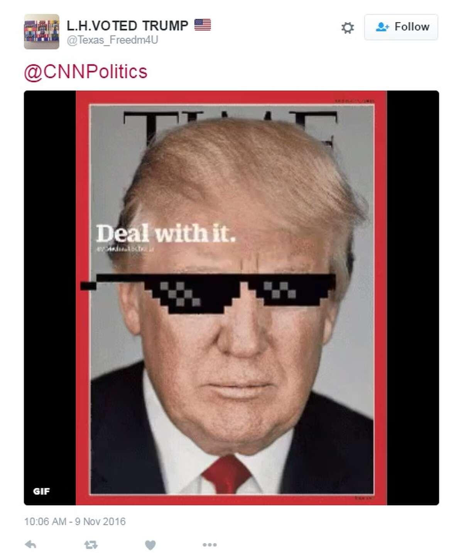 """@CNNPolitics,"" @Texas_Freedm4u."