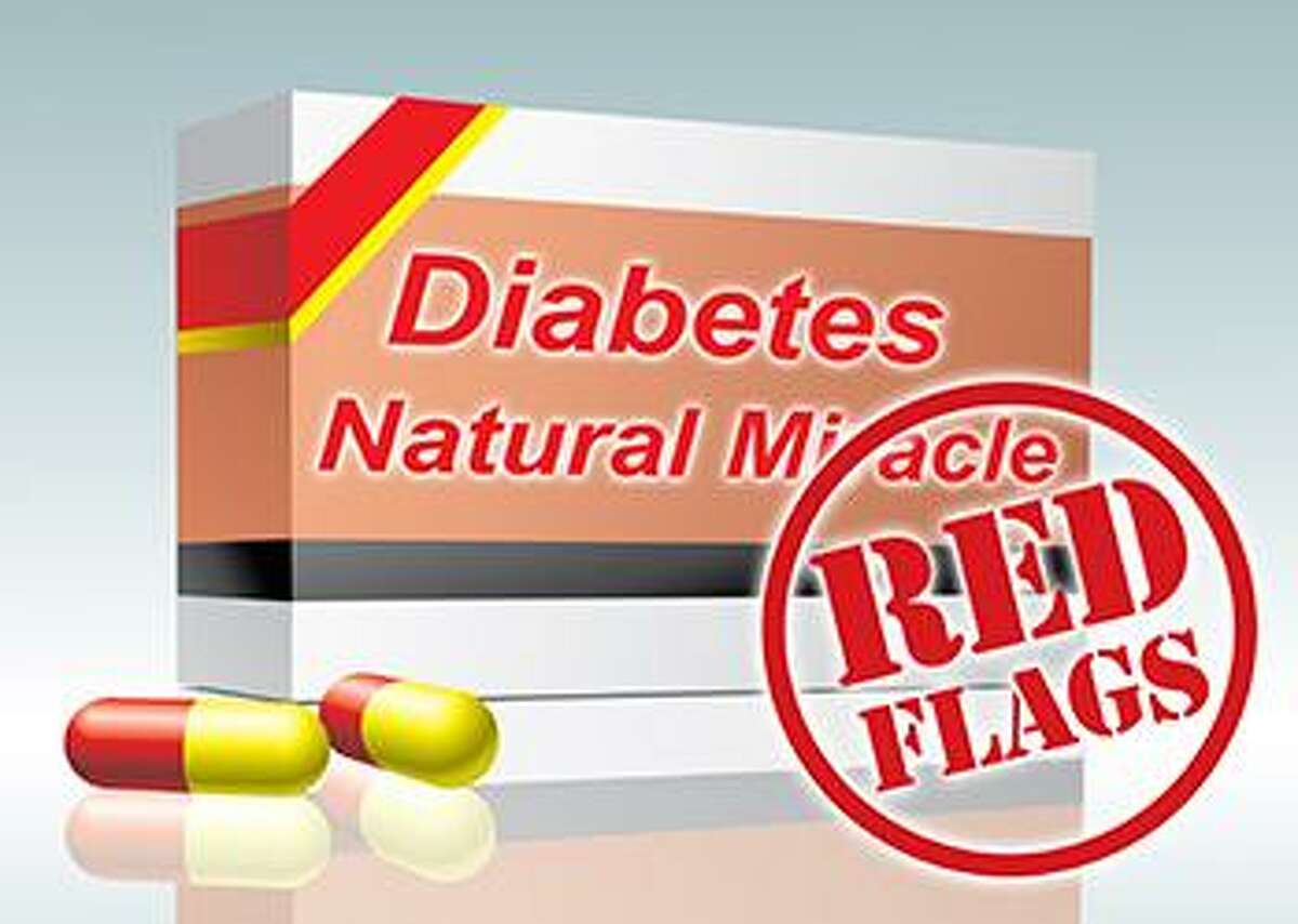 The Food and Drug Administration is warning people about illegal diabetes products that promise more than they can deliver. Image courtesy of the FDA.