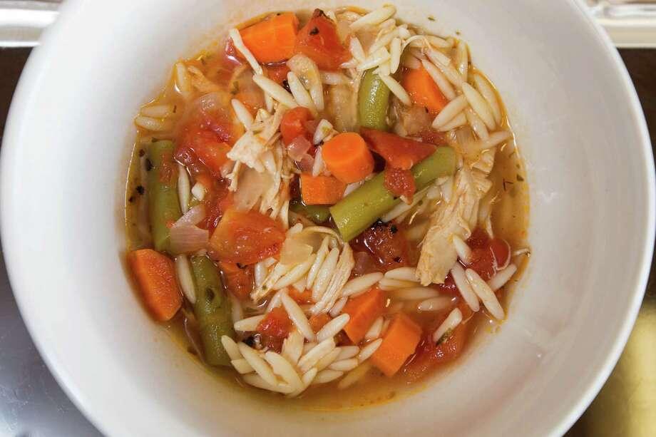 Turkey Vegetable Soup Photo: Michael Minasi, Staff / © 2016 Houston Chronicle