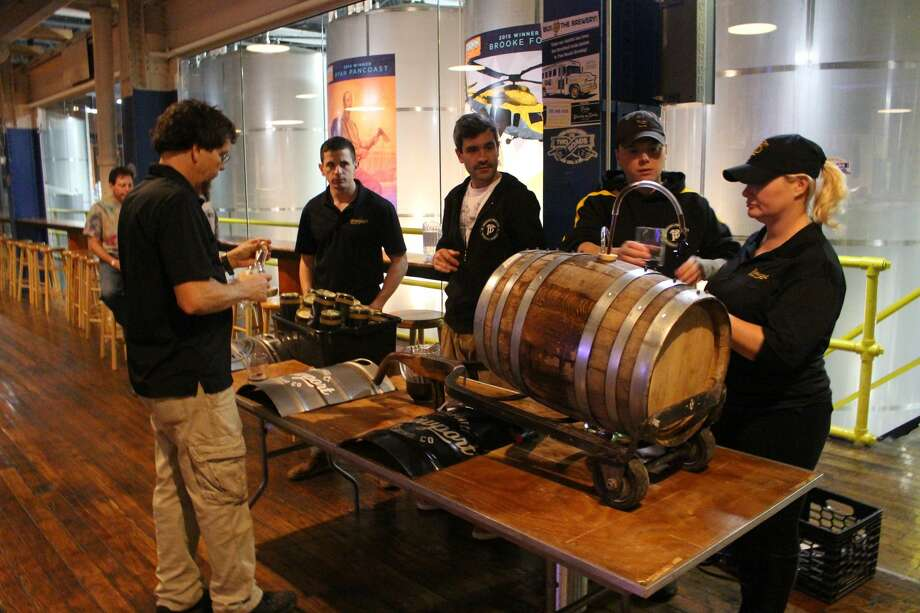 Two Roads Brewing Company hosted the third annual Connecticut Brewers Fest on Monday, Nov. 7, 2016, in Stratford. Proceeds benefitted the Connecticut Craft Brewers Guild. Photo: Mark Saunders