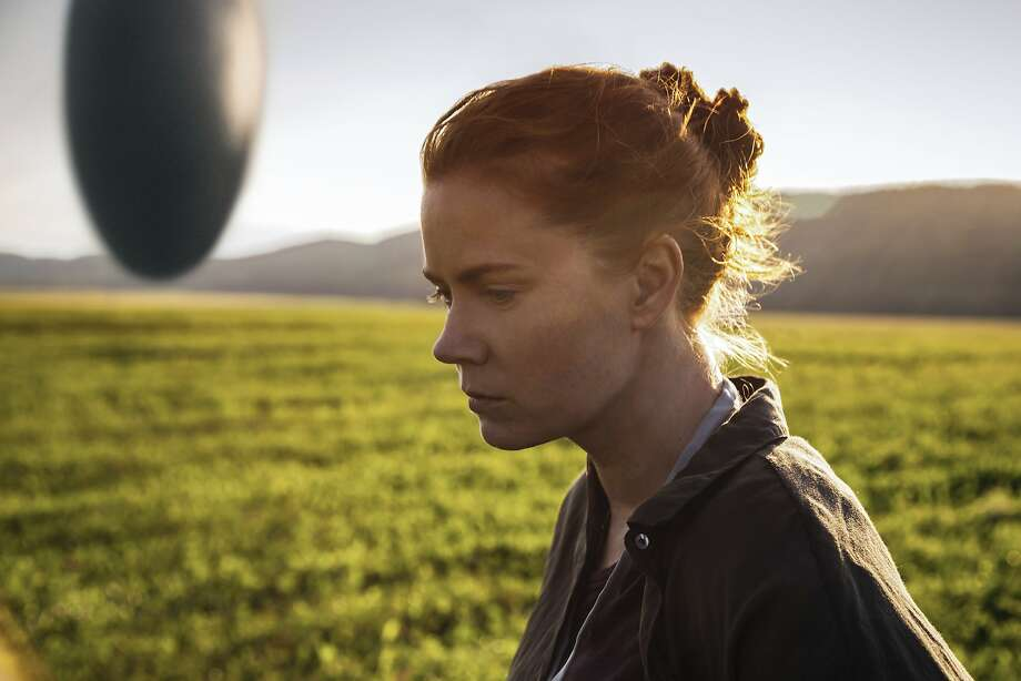 "Amy Adams as linguistics professor Louise Banks in ""Arrival."" Photo: Jan Thijs, Associated Press"