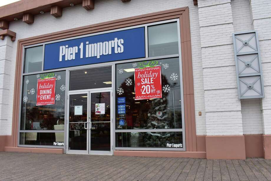 After closing its Westport store in October 2016, as of early November Pier One Imports had already decked out its Connecticut Avenue location in Norwalk, Conn. with holiday decorations. Along the city's main retail thoroughfares, about 30 percent of stores showed outward appearances of sprucing up for the holidays. Photo: Alexander Soule / Hearst Connecticut Media / Stamford Advocate
