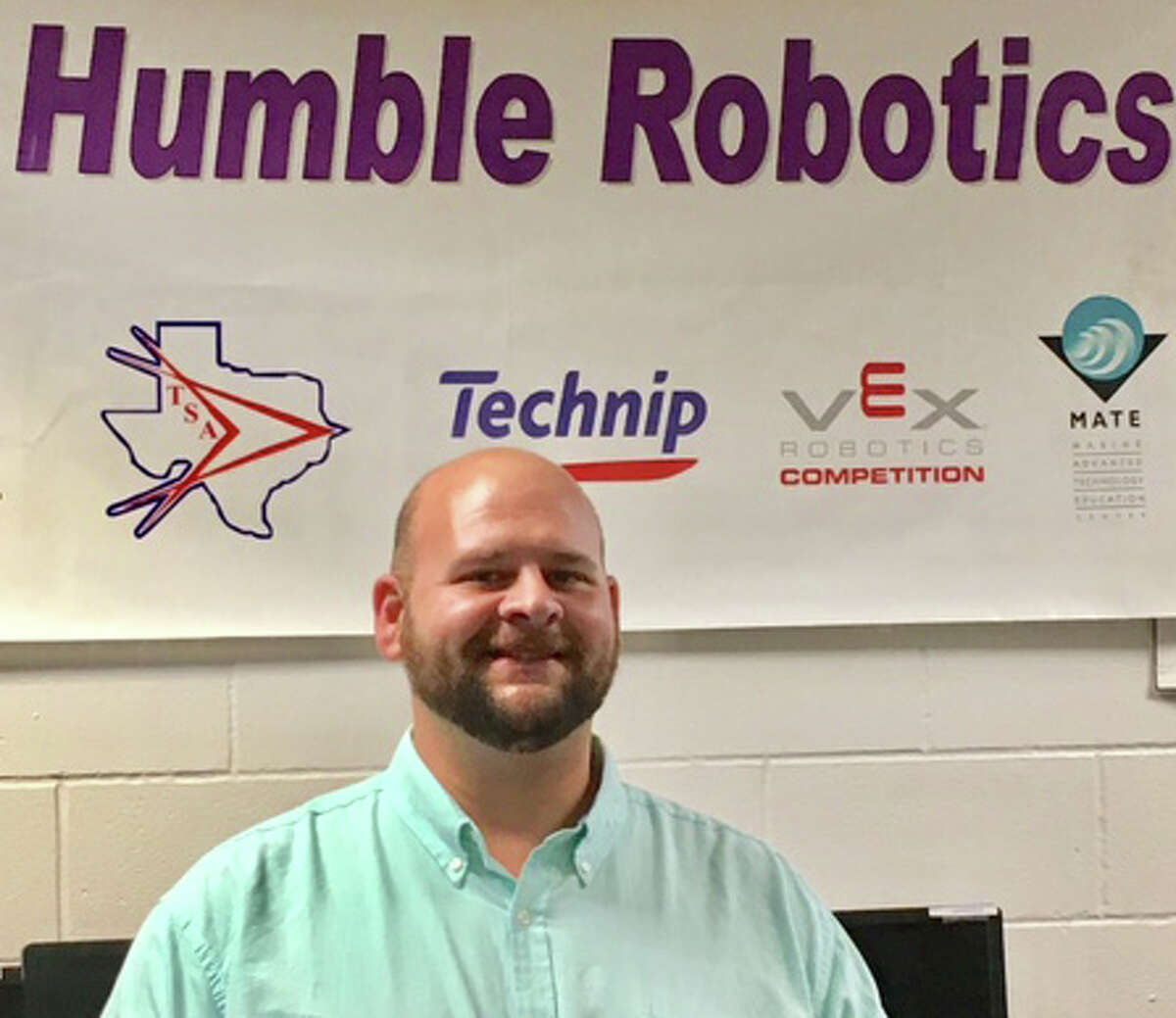 For his heroic actions of pulling two people from the swollen Frio River, Humble ISD educator Joe Paneitz was awarded the Honor Medal with Crossed Palms.