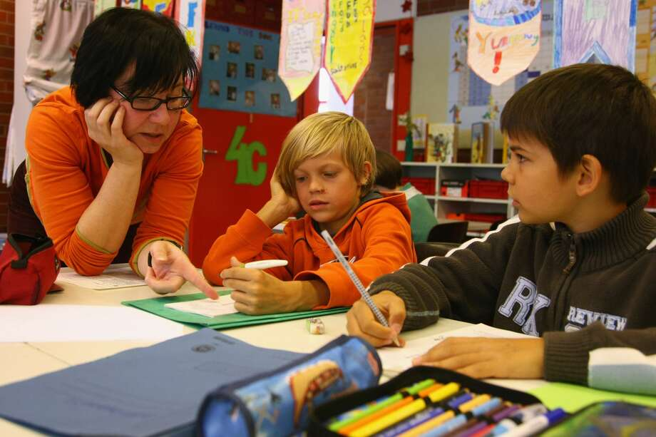 """GALLERY: """"Grading"""" Houston-area school districtsSeveral Houston-area schools were nominated for the 2017 national Blue Ribbon award, a major honor.Click through to see how Texas education officials graded Houston-area school districts. Photo: Sean Gallup/Getty Images"""