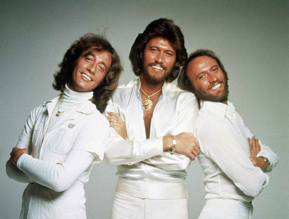 In this January 1979 file photo, the British pop group the Bee Gees, from left, Robin Gibb, Barry Gibb and Maurice Gibb, pose for photographers, somewhere in England. A representative said on Sunday, May 20, 2012, that Robin Gibb has died. He was 62. (AP Photo/File) Photo: HO / 1979 AP