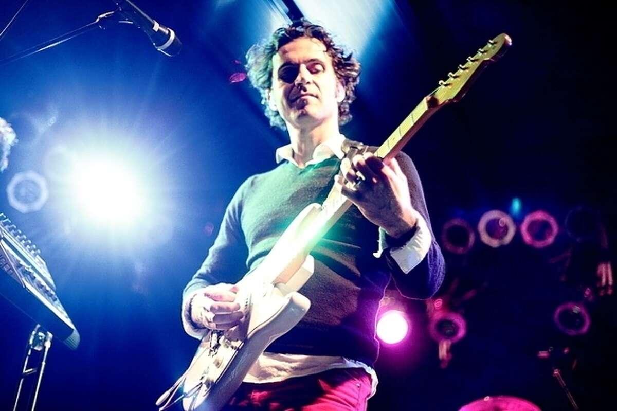 "Dweezil Zappa is performing ""Zappa on Zappa."""