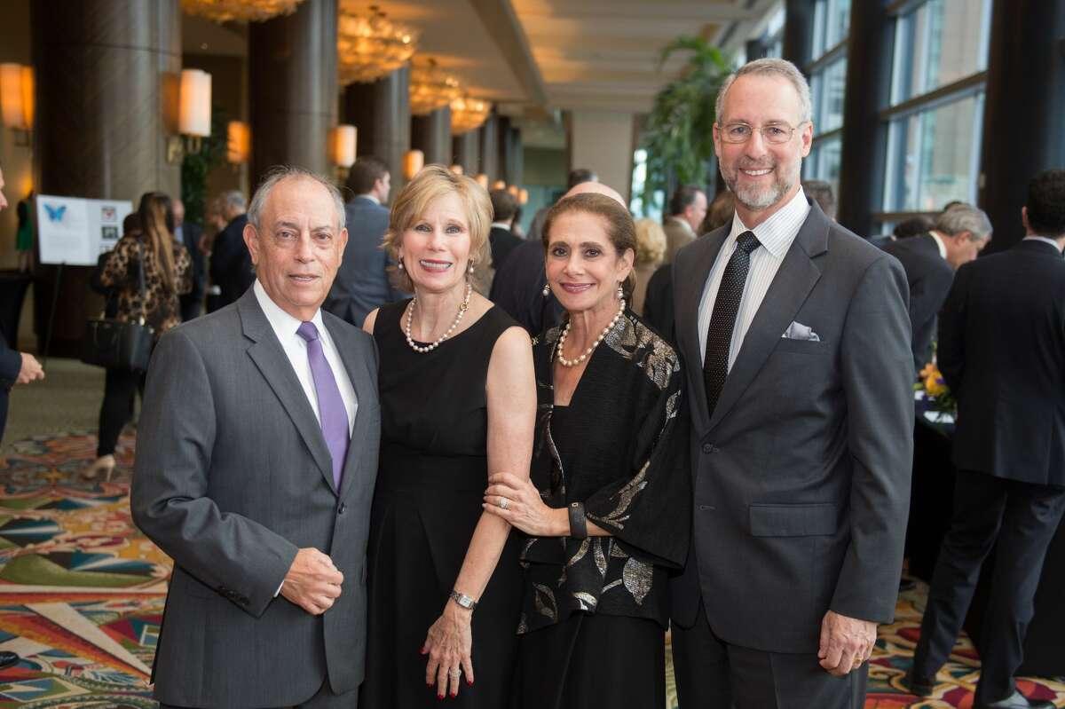 Steve and Denise Estrin, Gail and Milton Klein