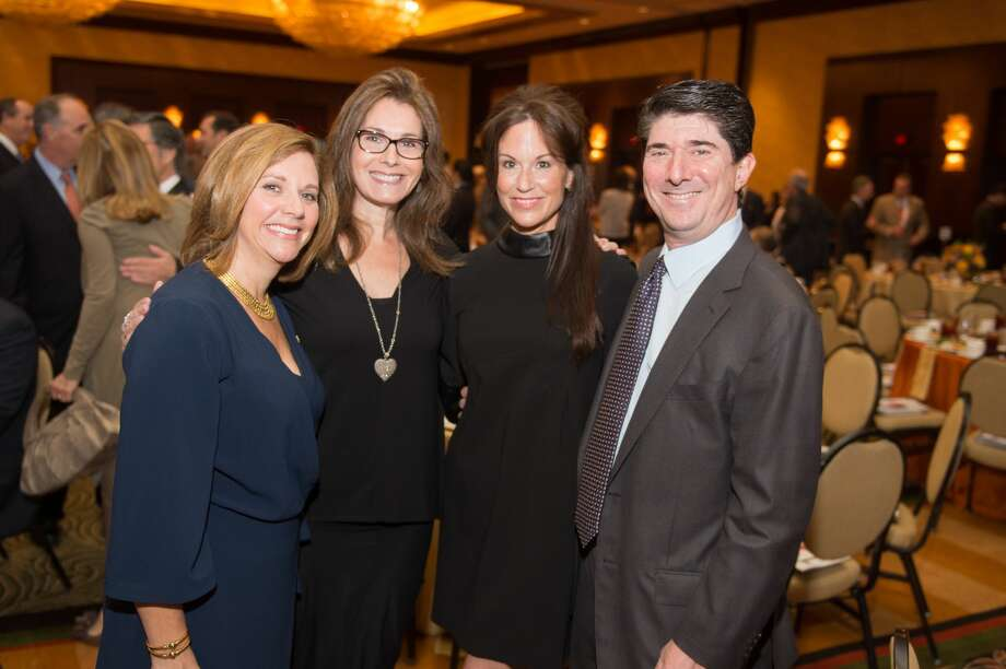 Sunni Markowitz, Vicki Bursten, Norelle and Brian Becker Photo: Wilson Parish