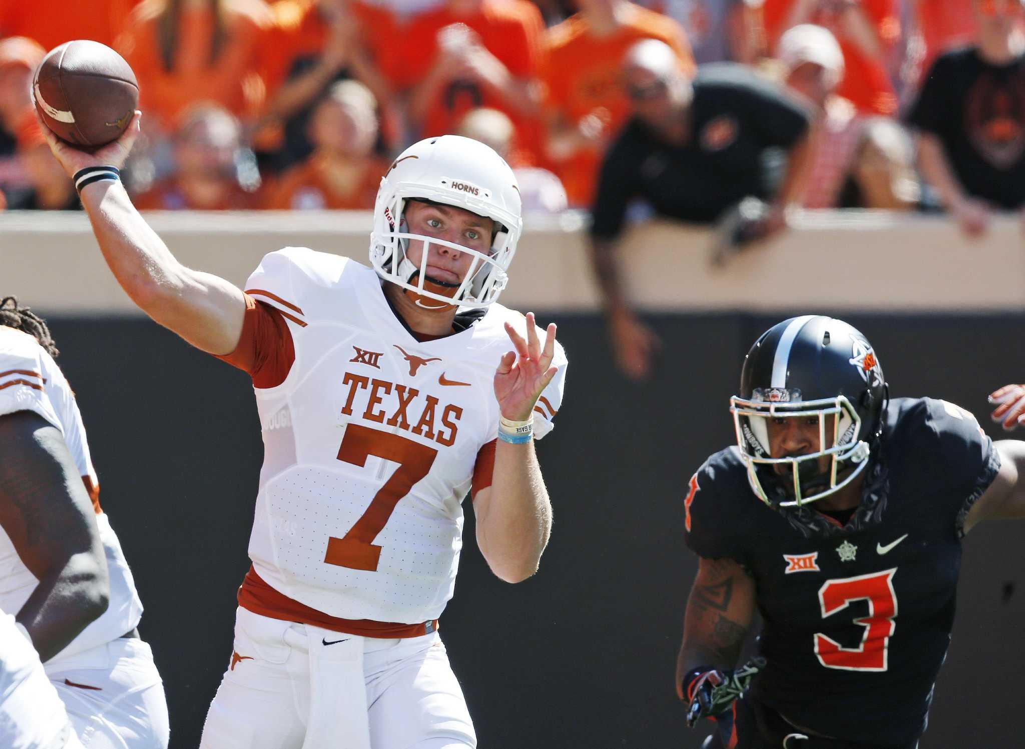 Texas QB battle still hasnt been decided