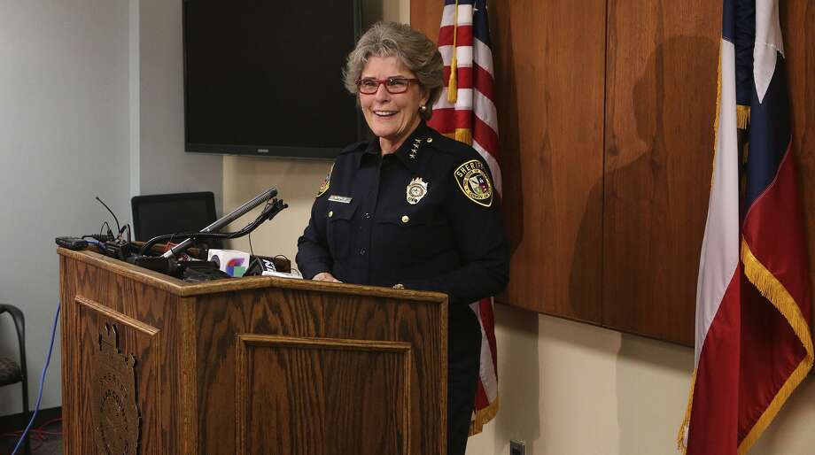 Former Bexar County Sheriff Susan Pamerleau, seen in 2016, would be the first woman to run the marshals service in the Western district, which was created 173 years ago, if confirmed by the Senate. Photo: John Davenport /San Antonio Express-News / ©San Antonio Express-News/John Davenport