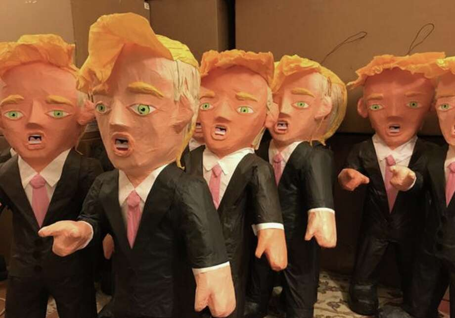 Trump piñatas may remain a hot item. Photo: Nancy Charraga, Casa Bonampak