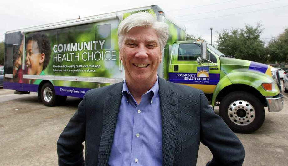 CEO of Community Health Choice Ken Janda  poses for a portrait outside his mobile office on Tuesday, Dec. 23, 2014, in Houston. The mission of the mobile office is to take health insurance enrollment to the people. ( J. Patric Schneider / For the Chronicle ) Photo: J. Patric Schneider, Freelance / © 2014 Houston Chronicle