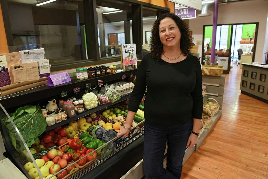 Amy Klein, executive director, stands in Capital Roots on River St. on Thursday Nov. 3, 2016 in Troy, N.Y. (Lori Van Buren / Times Union) Photo: Lori Van Buren / 20038668A