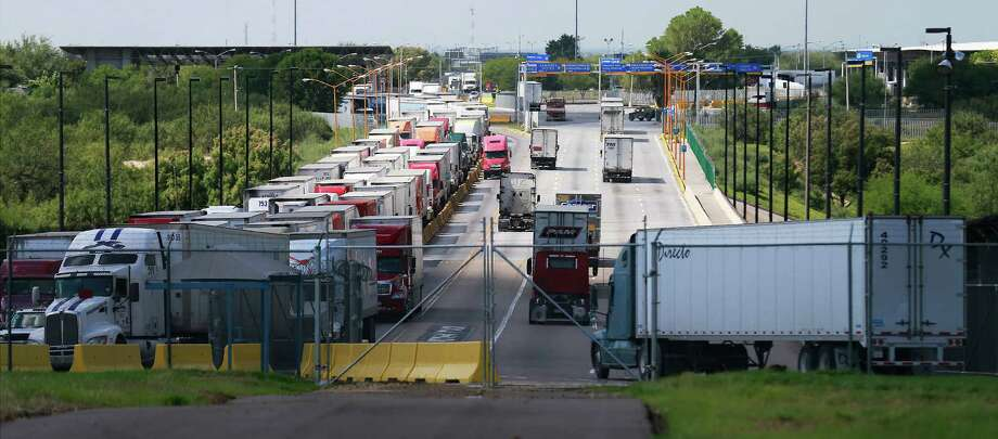 Trade across the Mexican border could be one of the first things to go. Photo: Kin Man Hui, Staff / ©2016 San Antonio Express-News