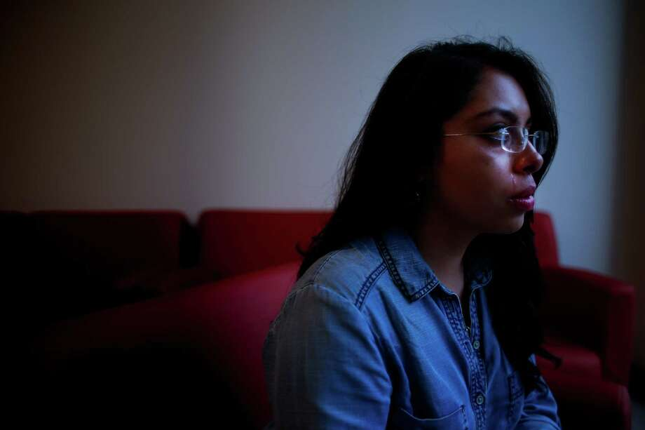 Ximena Magana is living in the U.S. on a work permit through President Barack Obama's Deferred Action for Childhood Arrivals program. Photo: Michael Ciaglo, Staff / © 2016  Houston Chronicle