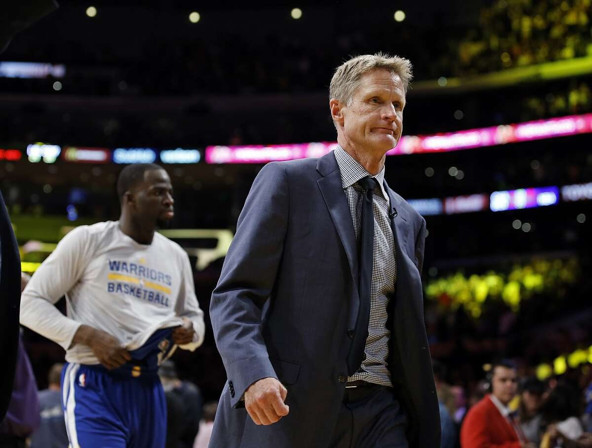 Steve Kerr's headaches and back pains are getting worse. He is consulting doctors, seeking relief, but he has been doing that for the past year and a half.