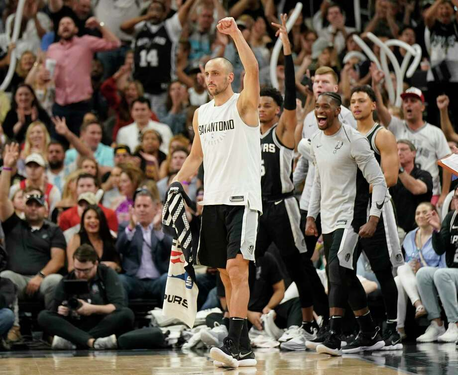 With the playoffs in sight, the Spurs plan to delay Manu Ginobili's latest retirement decision for as long as possible. Photo: Darren Abate, Associated Press / FR115 AP