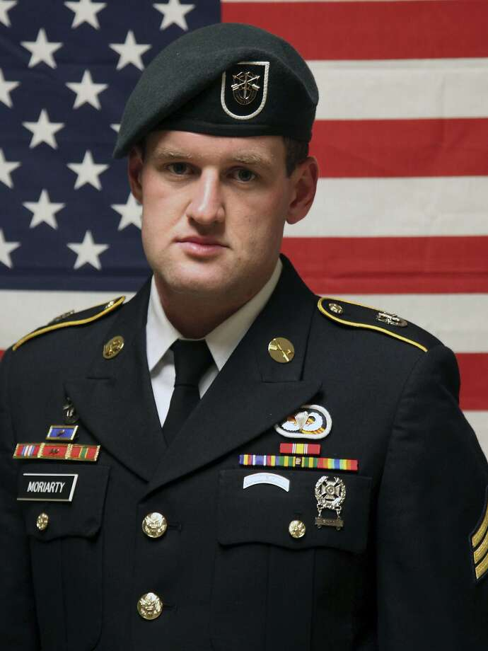 Kerrville native Staff Sgt. James F. Moriarty, seen in an undated photo provided Sunday, Nov. 6, 2016 by the Army Special Operations Command, was killed Friday in Jordan. Moriarty had been in the Army more than five years and was in his second overseas deployment, according to the Army release identifying him. Photo: COURTESY US ARMY