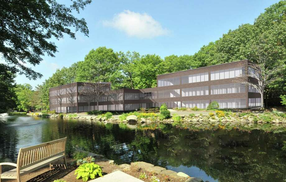 Greenwich Office Park, an office complex on 23 acres on West Putnam Avenue. Photo: File Photo / File Photo / Greenwich Time File Photo