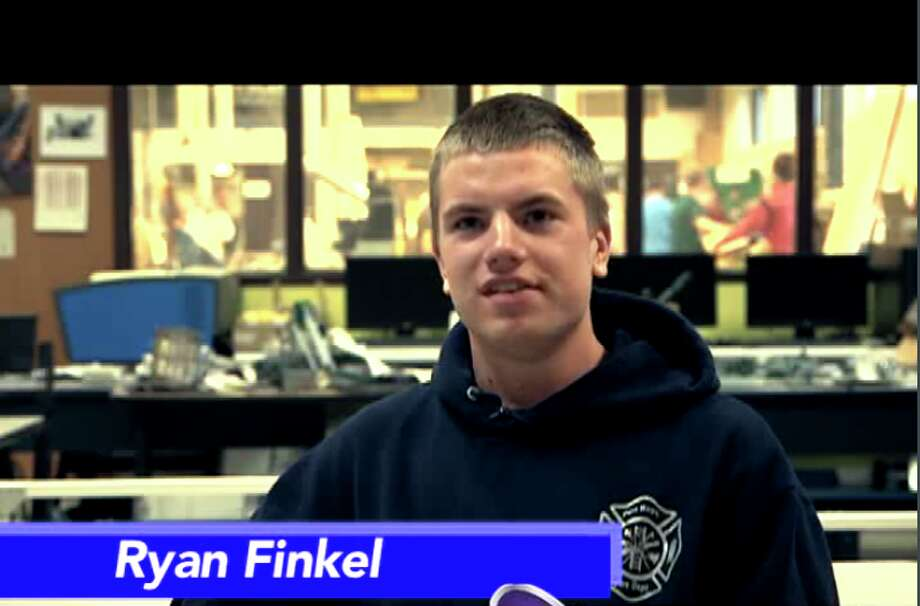 North Huron's Ryan Finkel is the Student of the Week.
