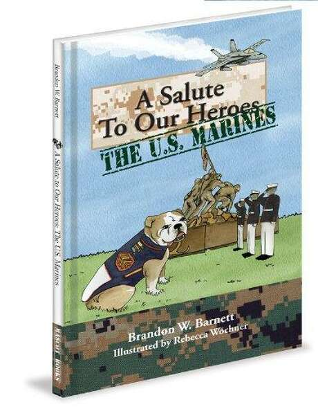 """A SALUTE TO OUR HEROES: THE U.S. MARINES,"" by Brandon W. Barnett. Illustrated by Rebecca Wochner. Published by Mascot Books. Photo: /Amazon"