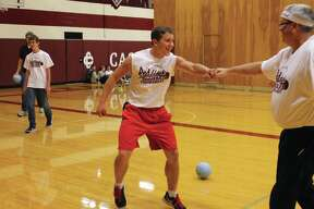 The official Cass City Jr./Sr. High School first annual Building Wide Dodgeball Tournament recently kicked off.