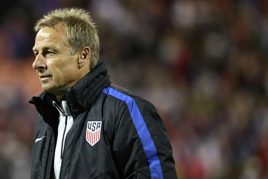WASHINGTON, DC - OCTOBER 11: Head coach Jurgen Klinsmann of the United States looks on after playing against New Zealand during an International Friendly at RFK Stadium on October 11, 2016 in Washington, DC. (Photo by Patrick Smith/Getty Images) Photo: Patrick Smith, Staff / 2016 Getty Images