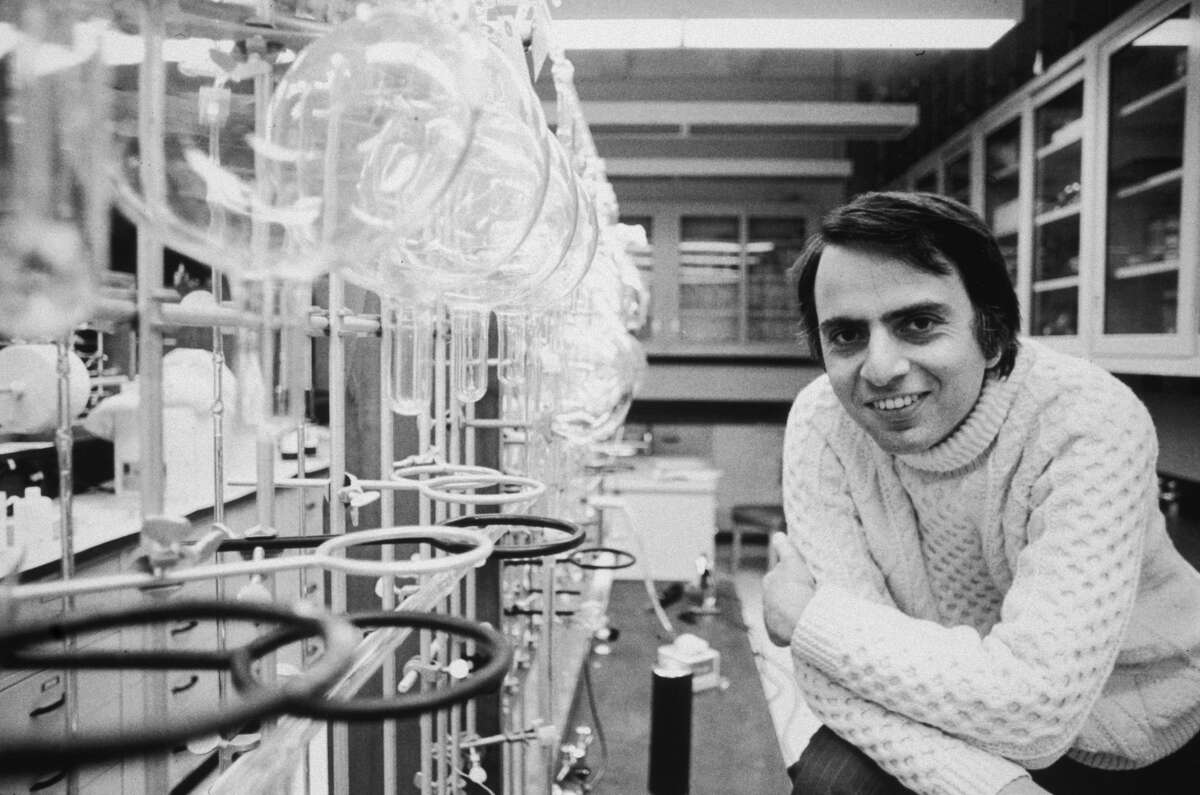 Astronomer and science popularizer Carl Sagan would turn 82-years-old this week. Click through to see Sagan's most inspiring quotes about the universe and life.