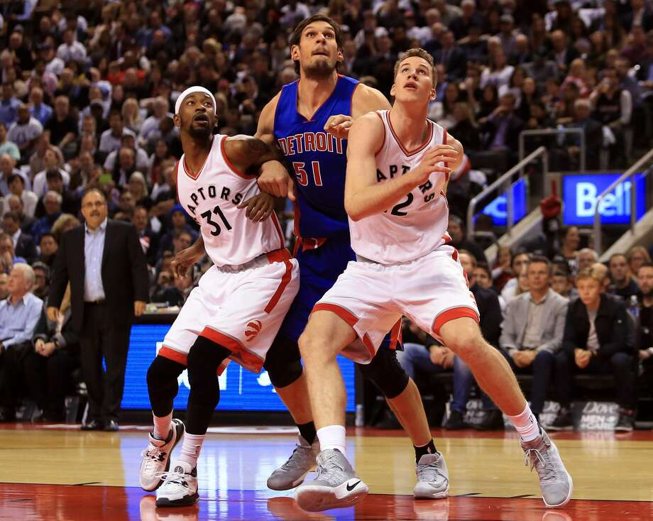 Nov. 11 - Boban Marjanovic, Beno Udrih and Aron Baynes (Detroit Pistons)Baynes spent his first three seasons in San Antonio, winning a title as a reserve center in 2014. Udrih was a member of the team from 2004 to 2007 and has bounced around the league, playing on eight teams in all. But the star attraction here will be Marjanovic, whose one magical season turned him into a cult idol. The 7-foot-3 Serbian rarely plays -- he has played just 18 total minutes in Detroit's first eight games -- so fans might not actually get to see the lovable giant on the floor. Photo: Vaughn Ridley/Getty Images