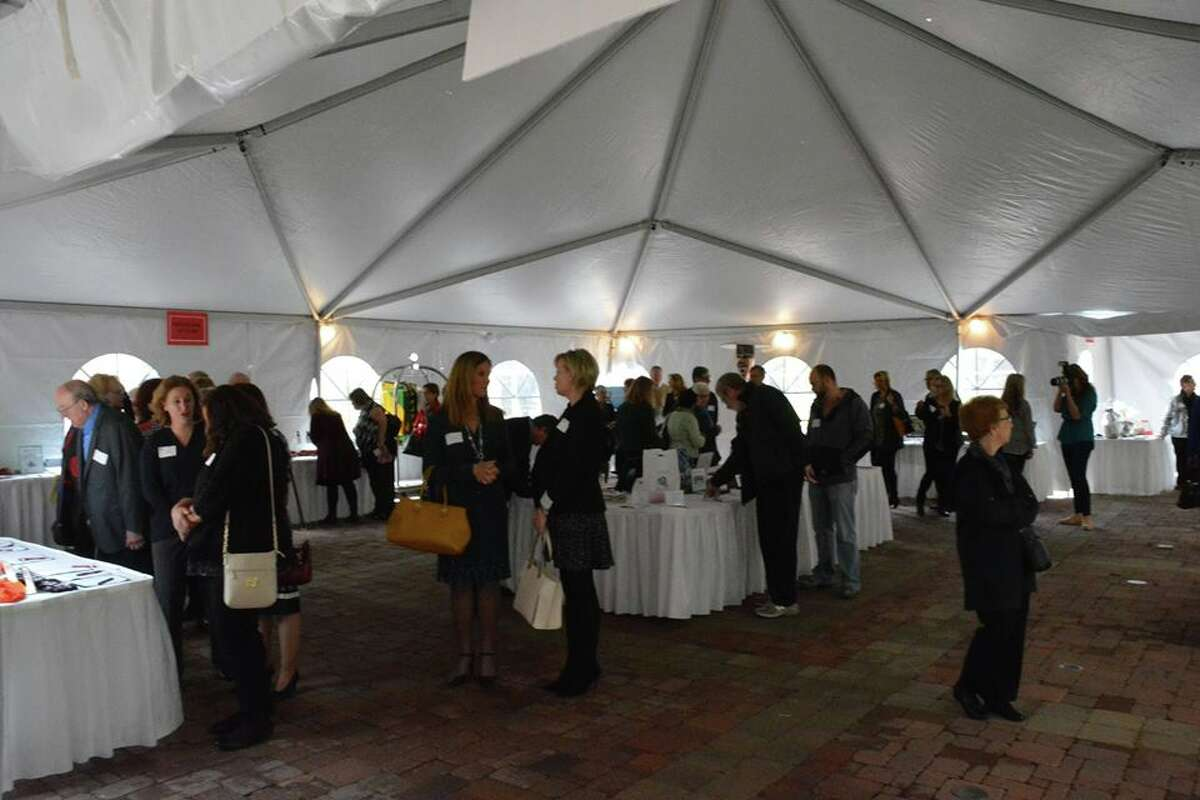 A scene from Midland Open Door's Dine on the Doors event on Thursday, Nov. 3, 2016.