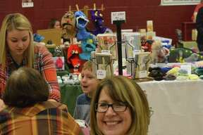 A scene from the St. John's Holiday Bazaar on Nov. 5, 2016 in Midland.