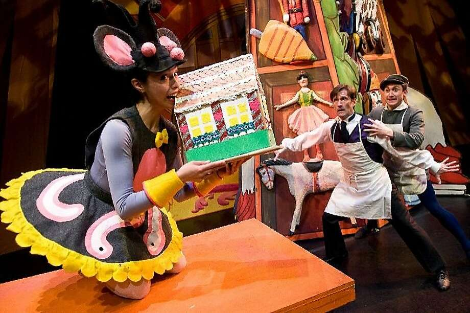 """Mark Foehringer's """"Nutcracker Sweets"""" was created for young kids. Photo: Matt Haber"""