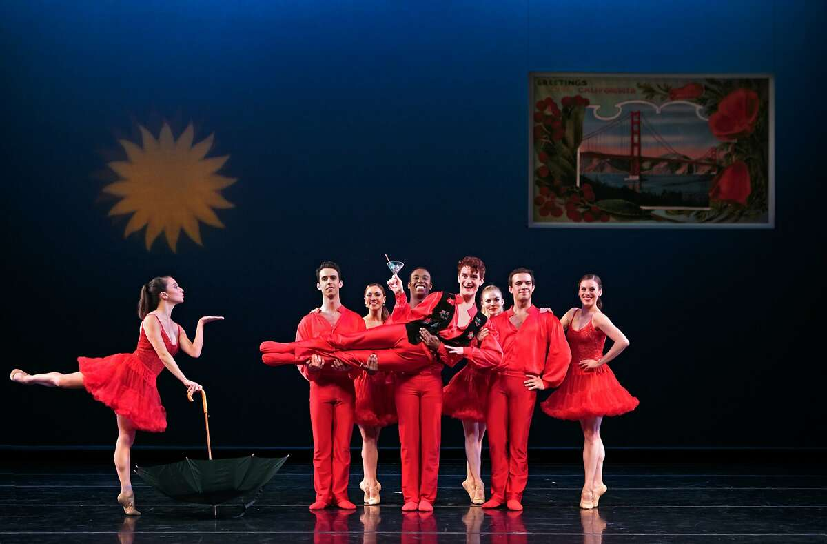 """""""Home for the Holidays"""" from Smuin Ballet's """"Christmas Ballet."""" Photo by Chris Hardy"""
