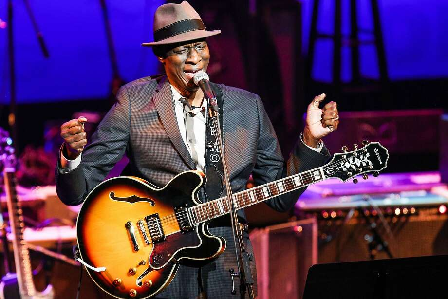 "Guitarist Keb' Mo' has teamed with Taj Mahal for the album ""TajMo."" Photo: Rich Fury, Associated Press"