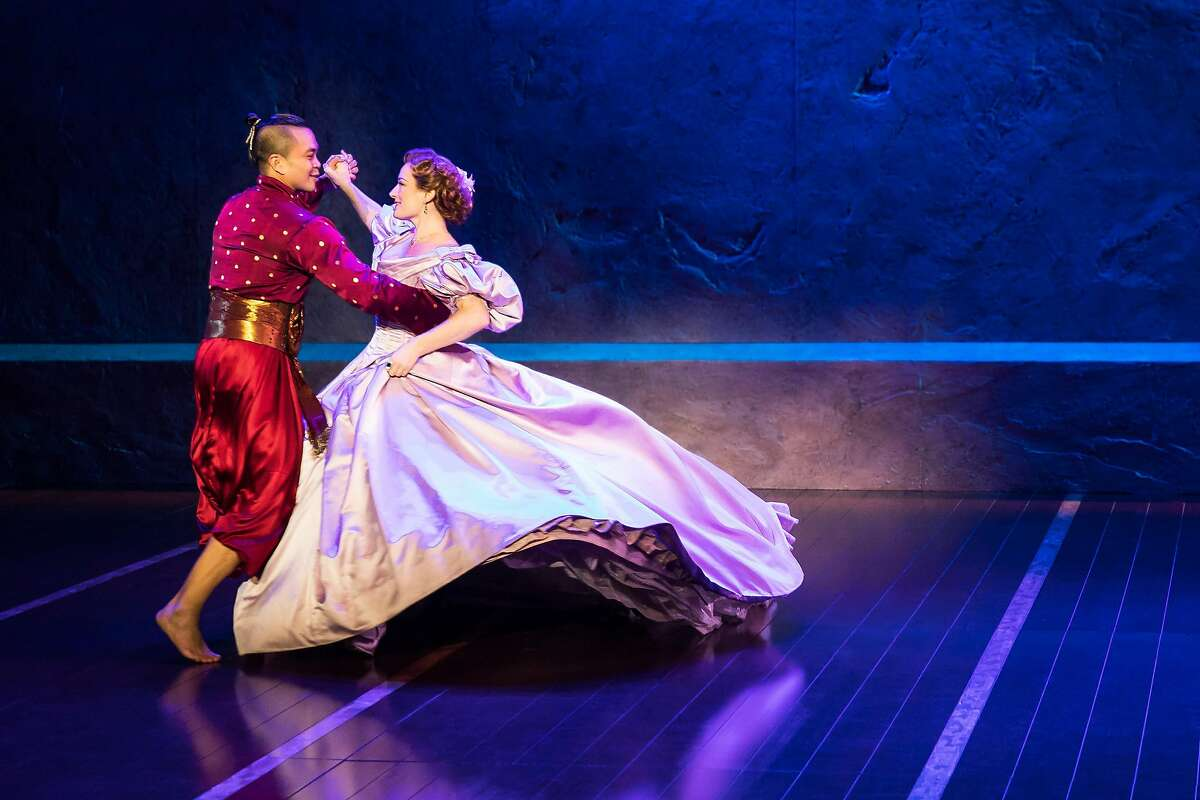 Jose Llana and Laura Michelle Kelly in SHN's
