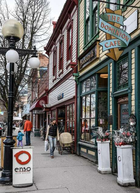 Main Street in Nelson, British Columbia, is a funky collection of artisan and organic food shops and interesting restaurants. Photo: Margo Pfeiff, Special To The Chronicle