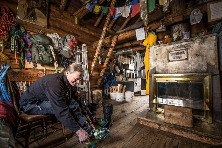 Wake Williams owns the Yodel Inn, built by a ski club, on Red Mountain. Photo: Margo Pfeiff, Special To The Chronicle