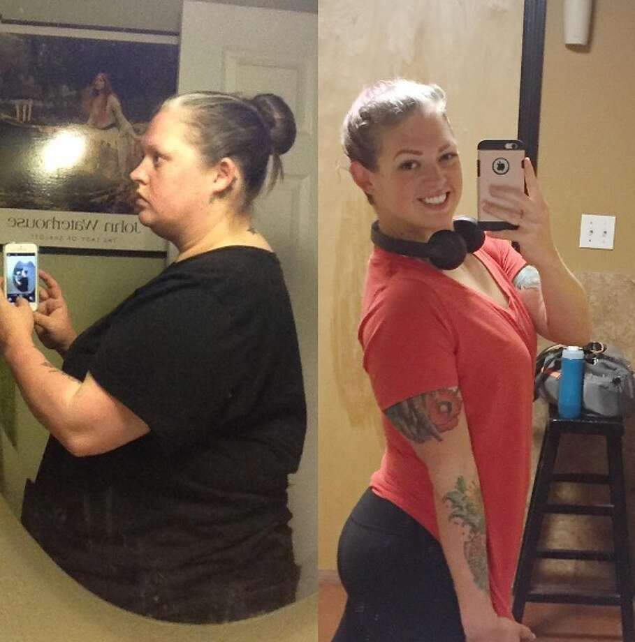 Misty Mitchell, a 36-year-old Wimberley native, has spent the last 20 months chiseling her goal body -- from 296 pounds to 137 -- without pills or products. Health or weight was never an issue in Mitchell's life until family matters slowed her down. Photo: Provided By Misty Mitchell