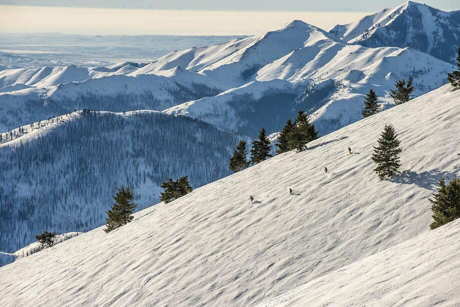 With more than 3,400 vertical feet and 2,000 acres of varied terrain, Sun Valley offers experiences on two mountains. Photo: Courtesy Of Sun Valley Resort