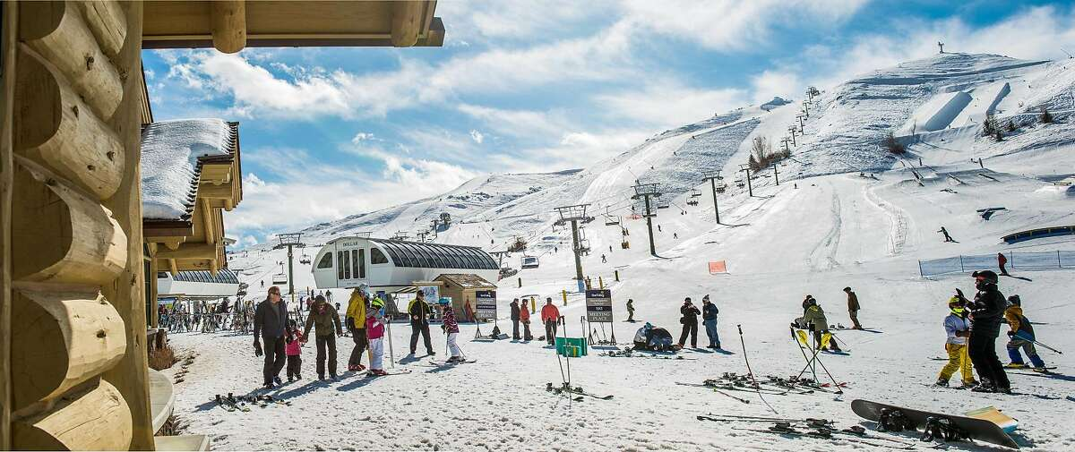 Dollar Mountain is home to Sun Valley's SnowSports School, catering to beginning skiers and riders.