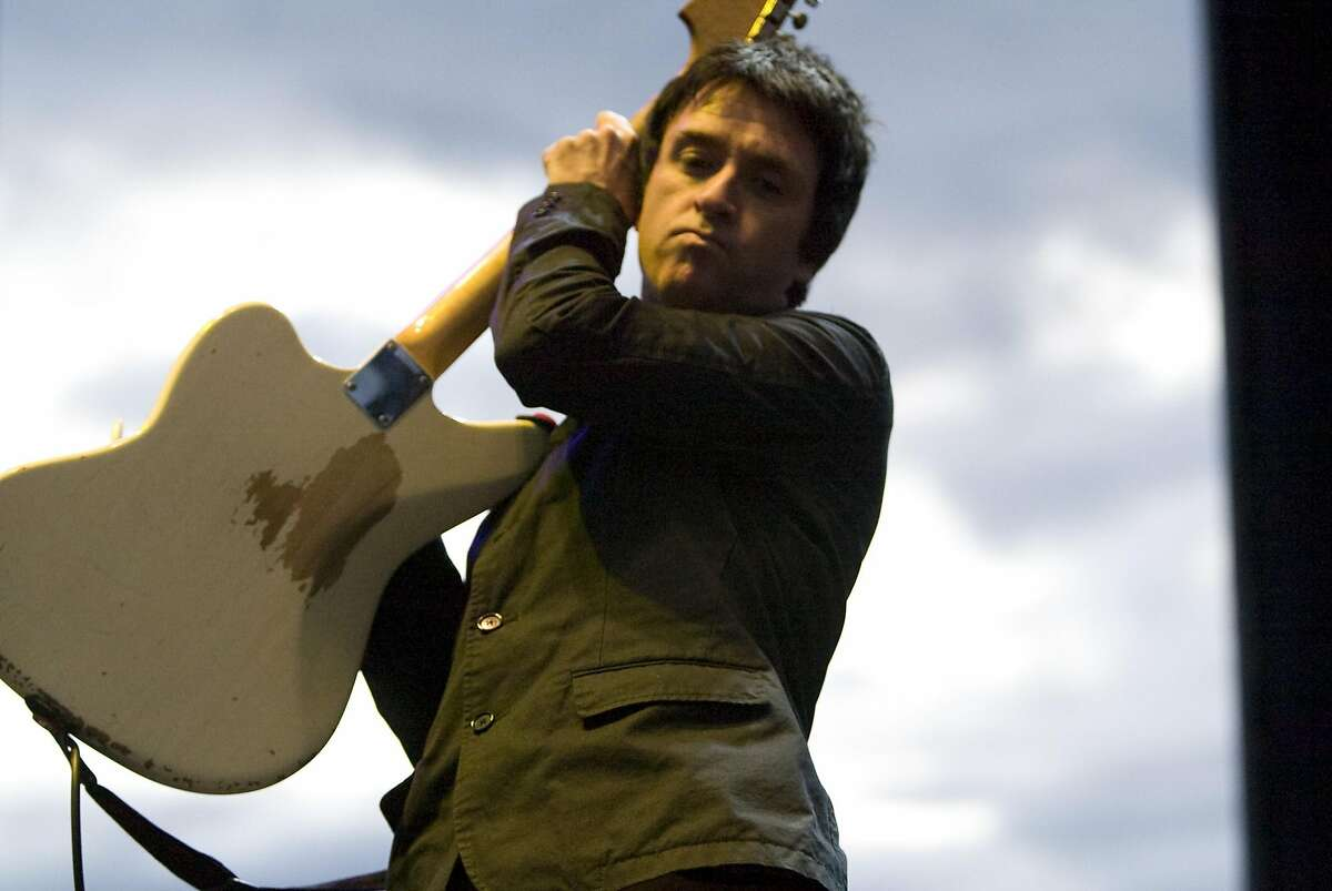 Johnny Marr, of Modest Mouse, performs at the Sasquatch music festival at the Gorge.WA. May 24, 2008. (photo/Grant M. Haller/Seattle Post-Intelligencer