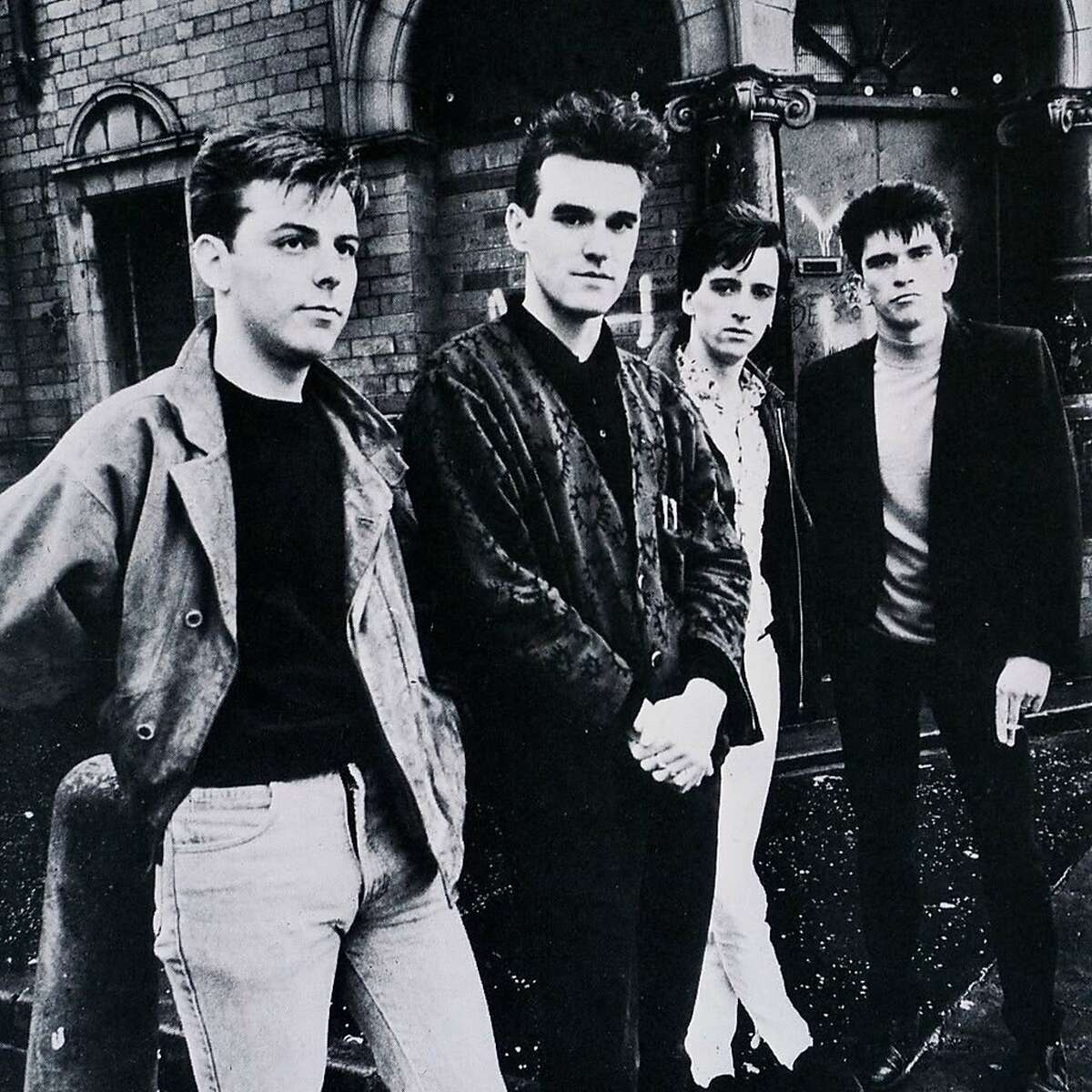 The Smiths: (from left) bassist Andy Rourke, singer Morrissey, guitarist Johnny Marr, drummer Mike Joyce.