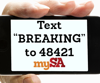 Get breaking news sent to your smartphone! Text BREAKING to 48421