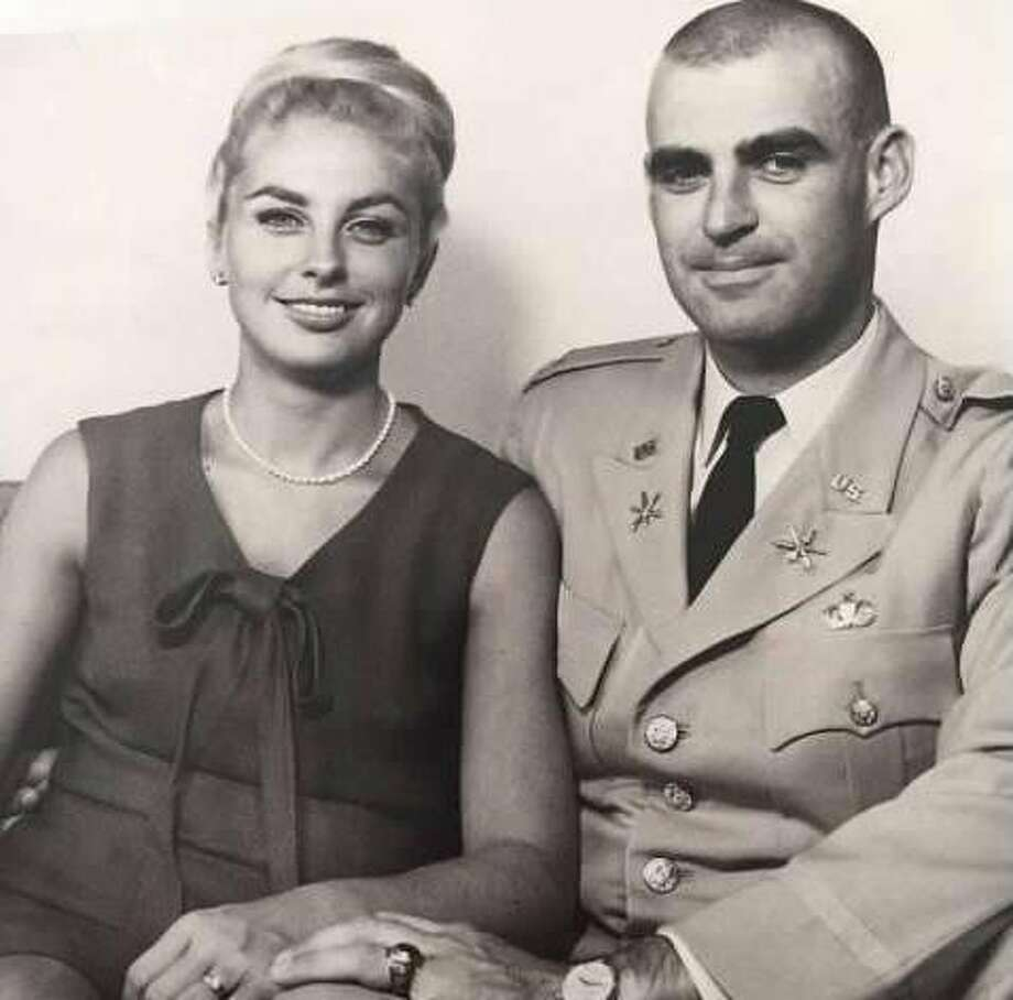 Army Capt. Denis O'Connor, who was killed in the Vietnam War on Oct. 10, 1967, with his wife, Patty Ekenberg. Photo: Handout, Courtesy Christine Banducci